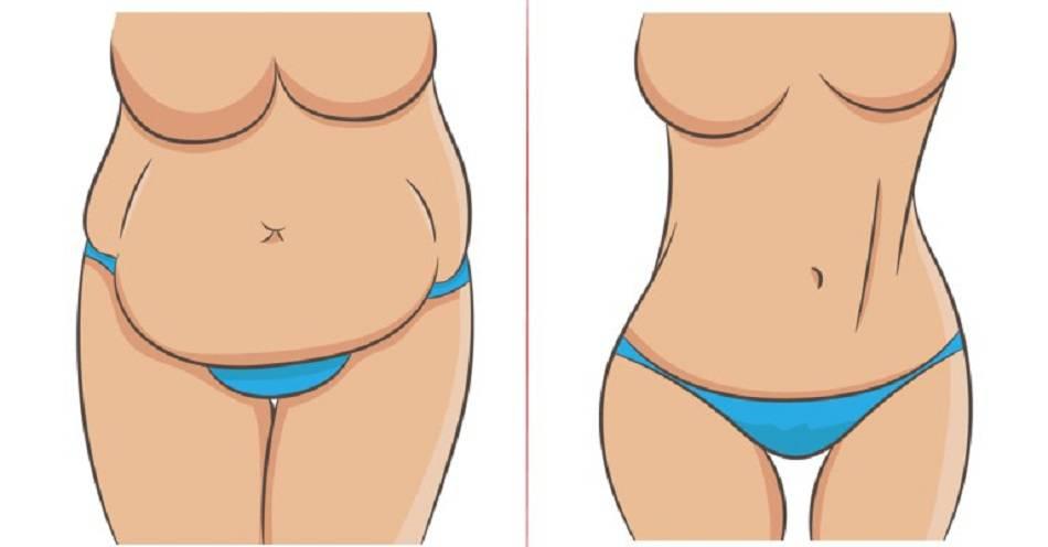 come perdere grasso addominale