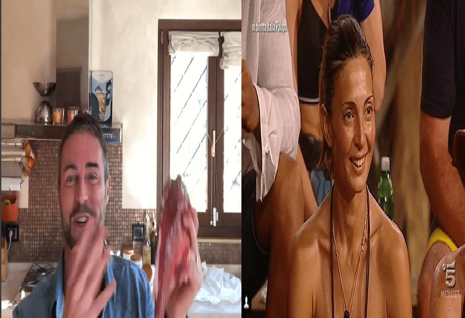 isola dei famosi 2018 flavio montrucchio e alessia mancini
