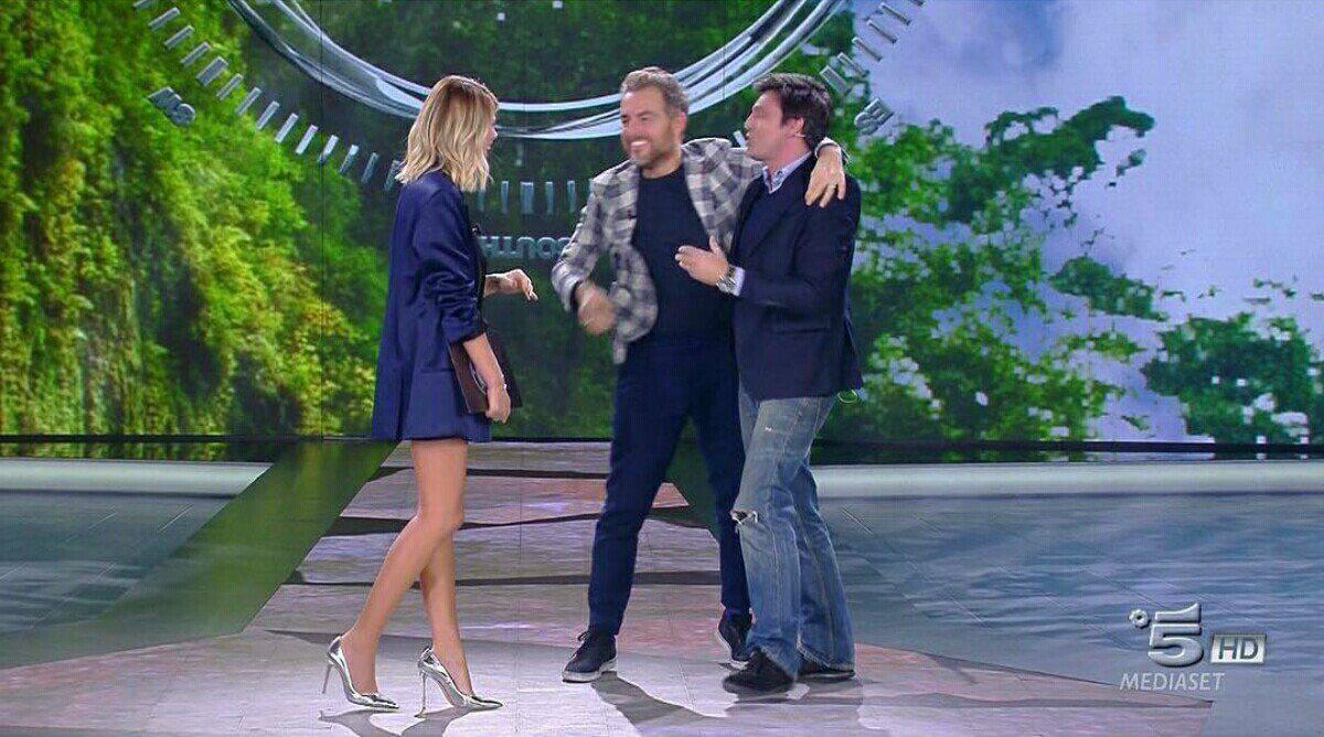 Daniele Bossari e Lorenzo Flaherty: la proposta speciale in diretta tv