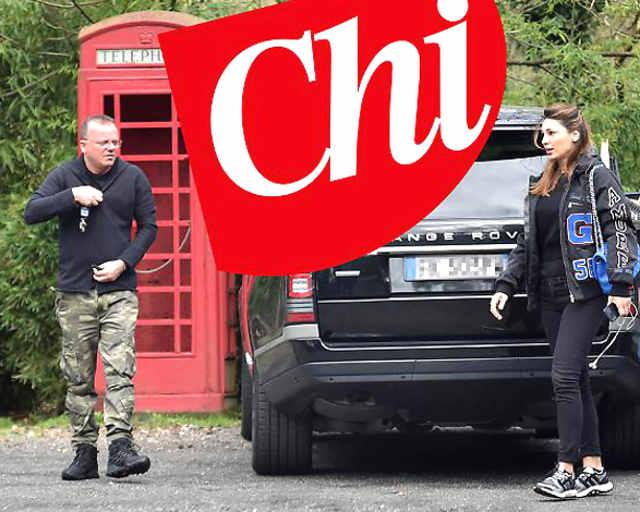 Gigi D'Alessio e Anna Tatangelo foto insieme