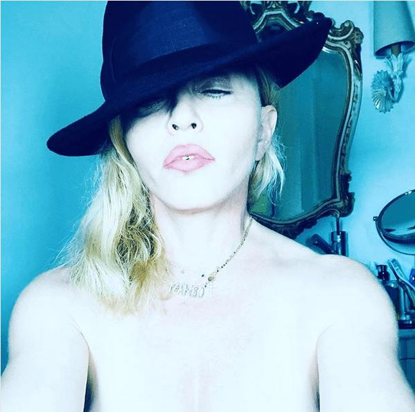 Madonna cantante