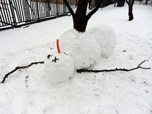 pupazzo neve