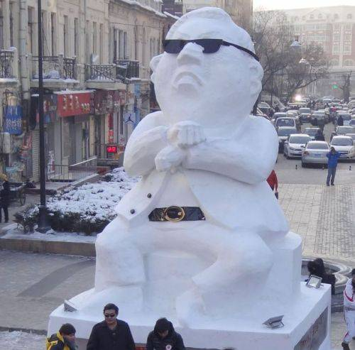 pupazzo di neve coreano