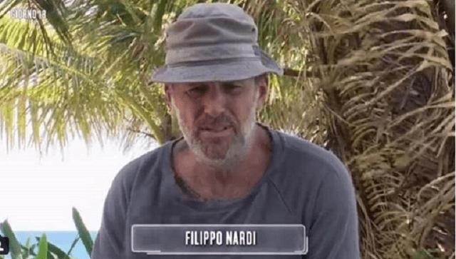 isola dei famosi 2018 la richiesta di filippo nardi