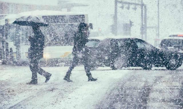 Buran, il vento gelido siberiano arriva in Campania