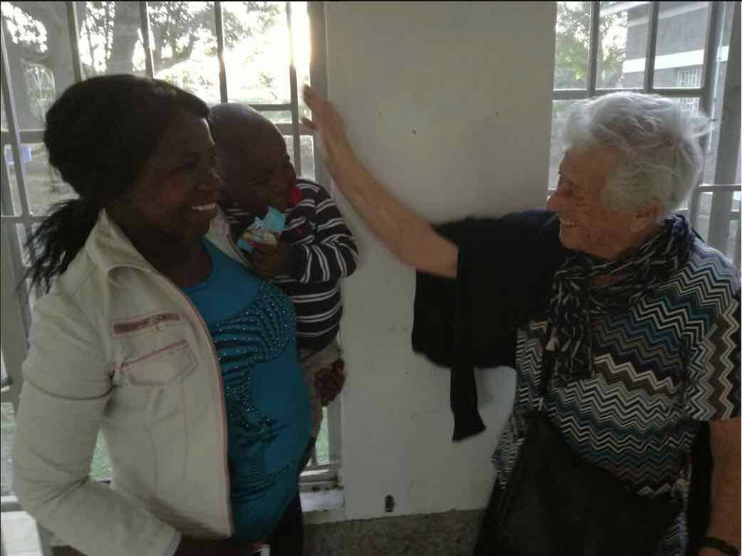 Nonna Irma in Kenya