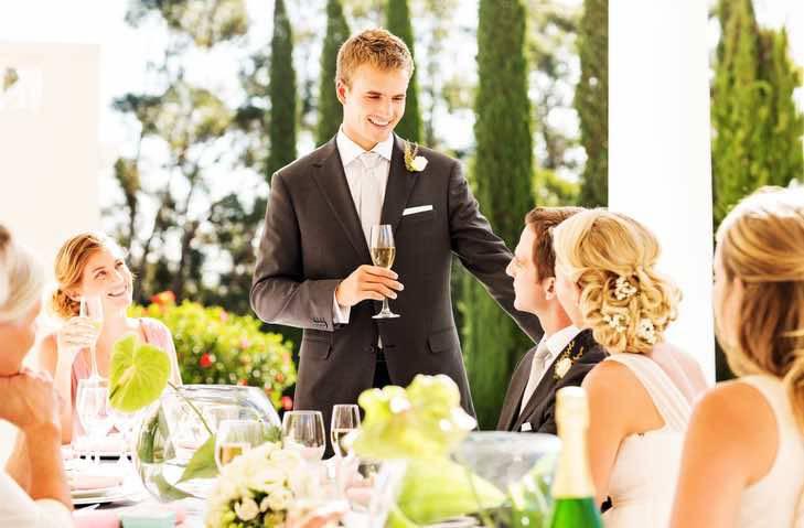 il testimone di nozze è l'amante della sposa