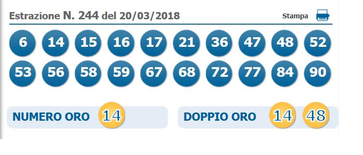 estrazione 10 e lotto1
