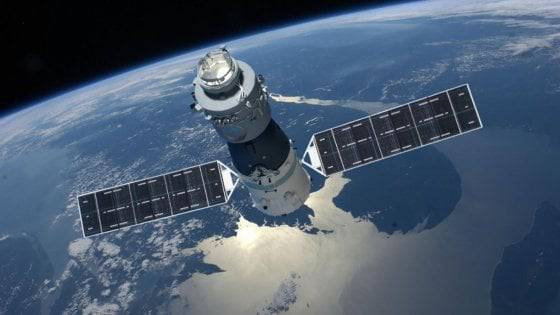 satellite tiangong 1 frammenti sull'Italia