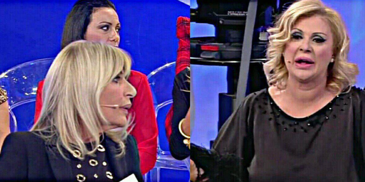 Uomini e donne: Tina Cipollari, acqua in testa a Gemma Galgani