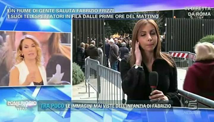 Gossip Barbara D'Urso insultata dopo la morte di Fabrizio Frizzi