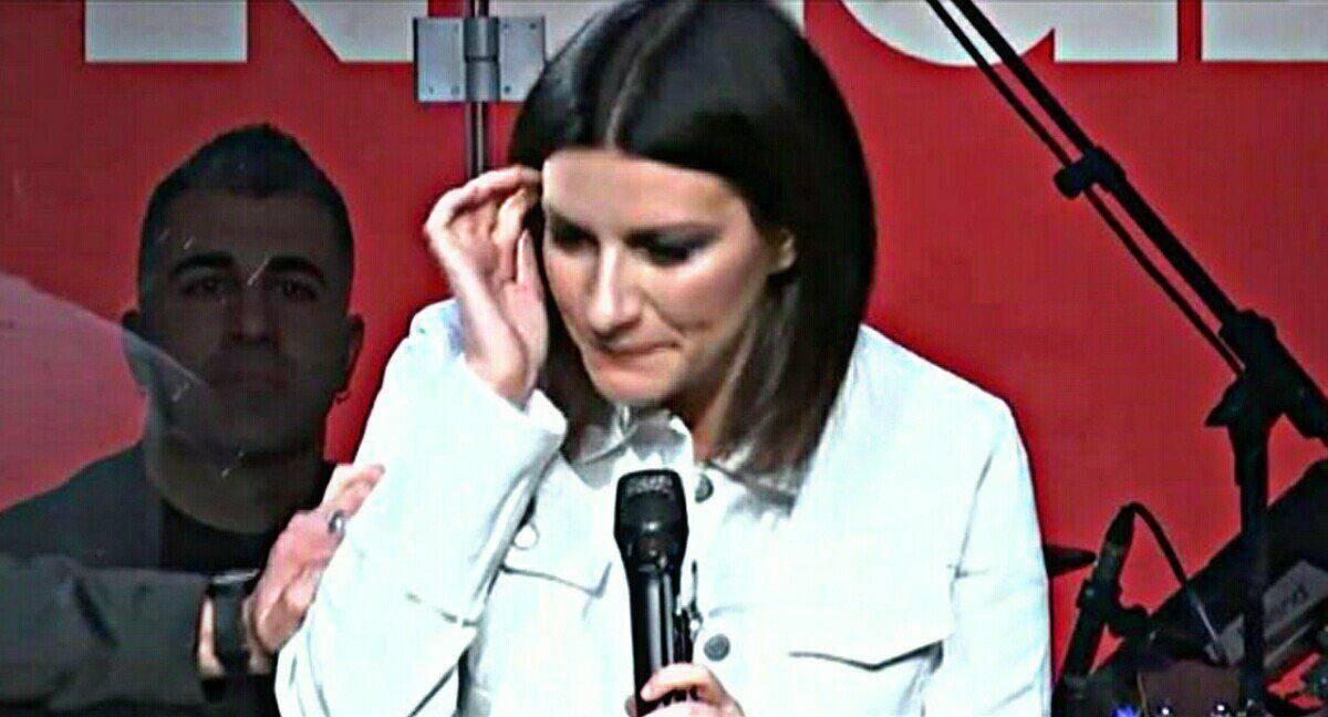 Laura Pausini commossa per la morte di Fabrizio Frizzi