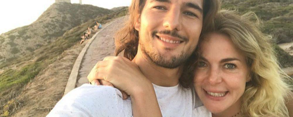 Andrea Preti e Claudia Gerini