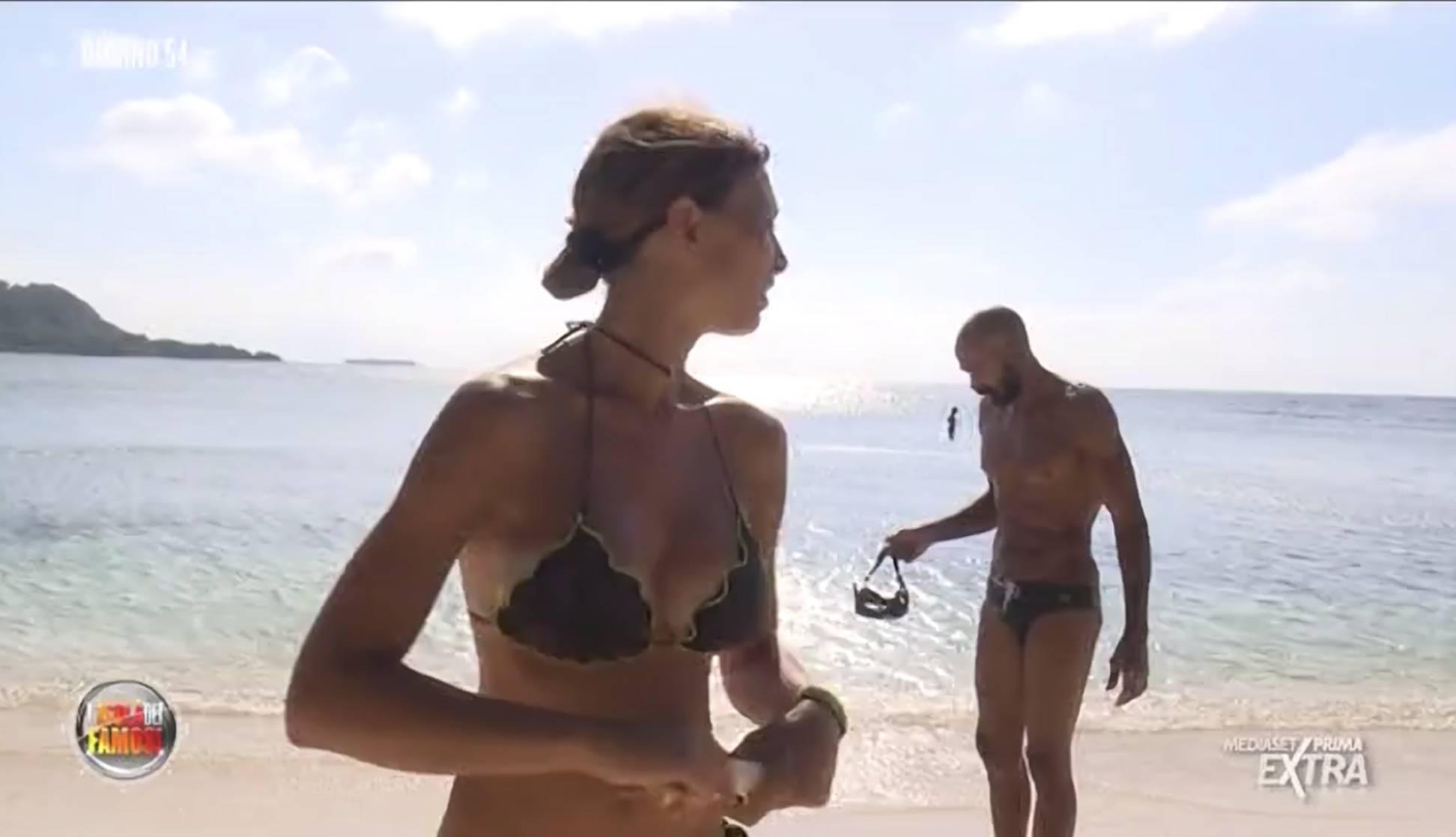 isola dei famosi cecilia capriotti corna gate Alessia Mancini e Amaurys