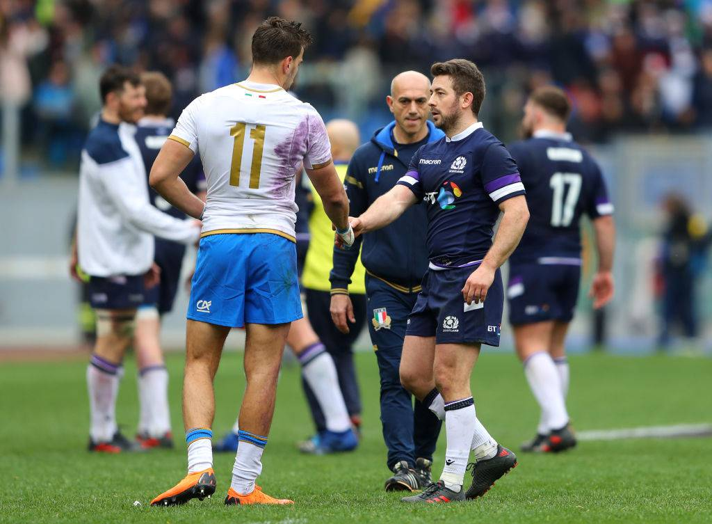 Italia-Scozia rugby
