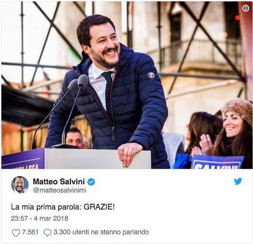 elezioni 4 marzo twitter