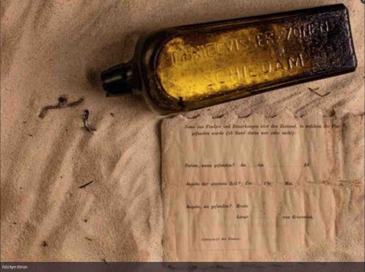 messaggio in bottiglia 1886