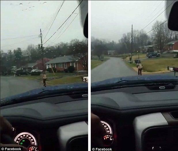 bullo correre a scuola