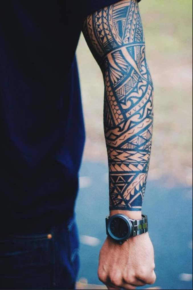 Maori Tattoo Polso Uomo - Best Tattoo Ideas