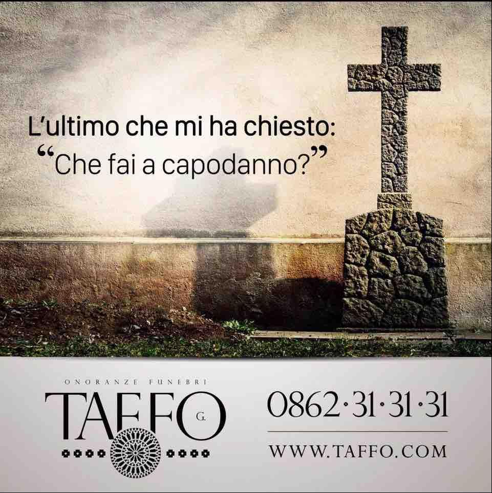 Taffo Roma, pubblicità per affrontare la morte ridendo