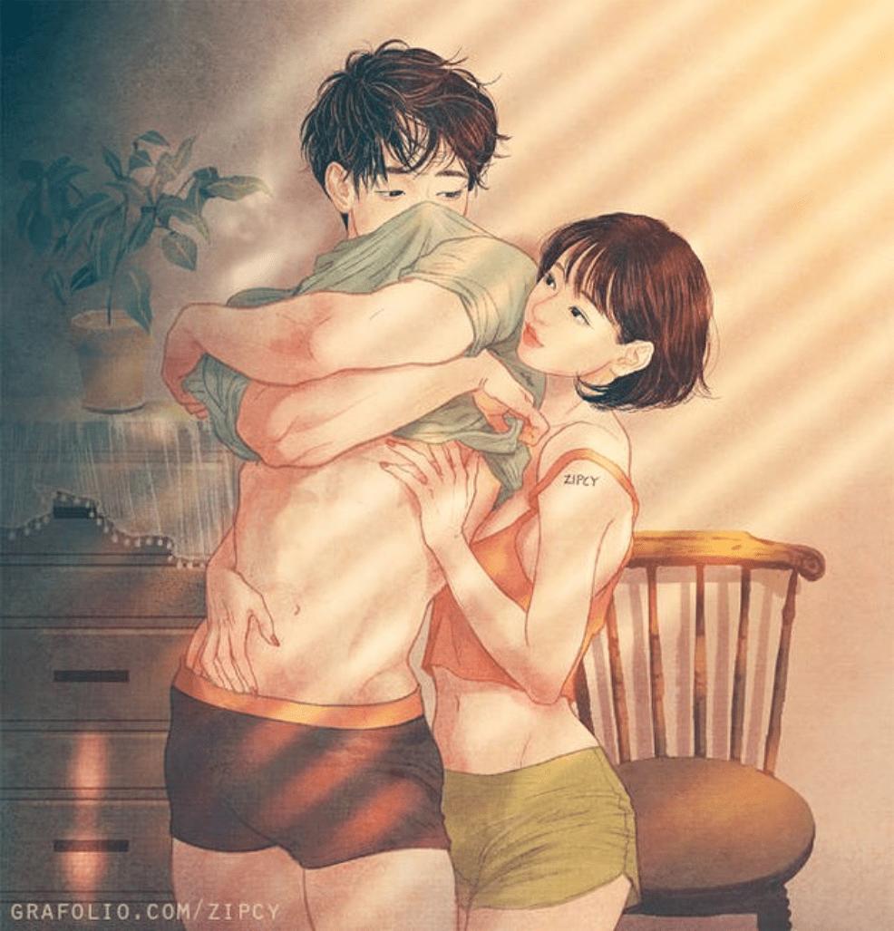 illustrazioni sensuali
