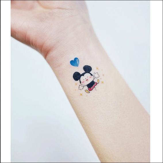 Tatuaggi Piccoli Femminili Dal Polso Alla Caviglia