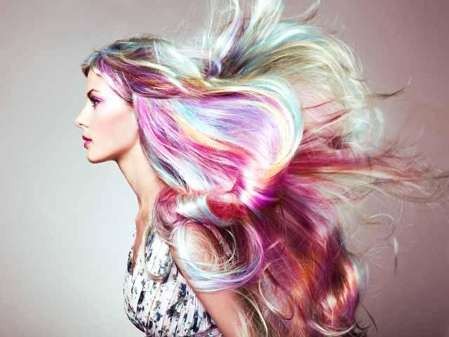 test colore capelli