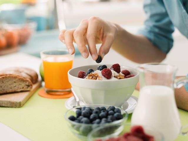 colazione dopo la corsa