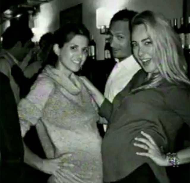 cristel carrisi incinta