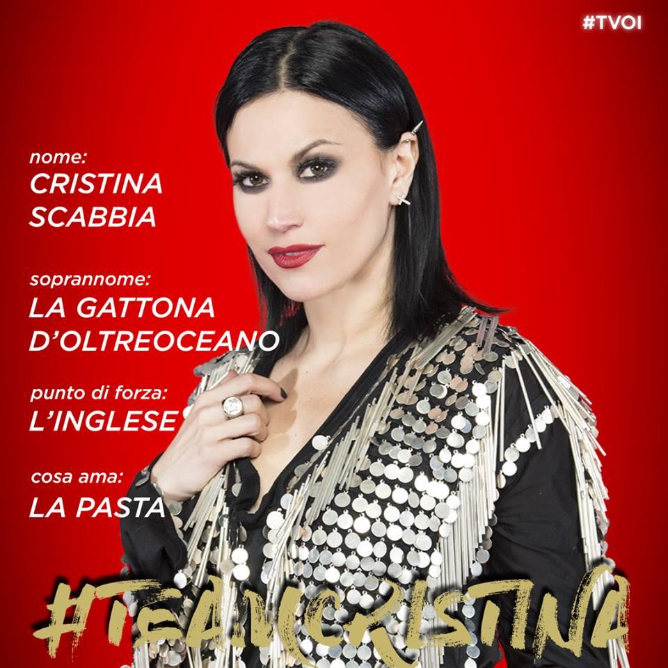 cristina scabbia the voice 2018