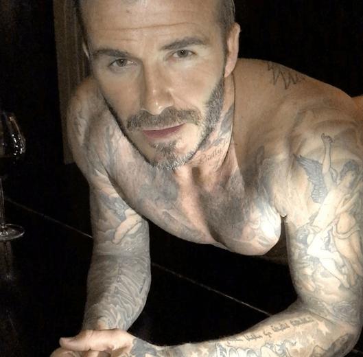 david beckham festa del papà 2018