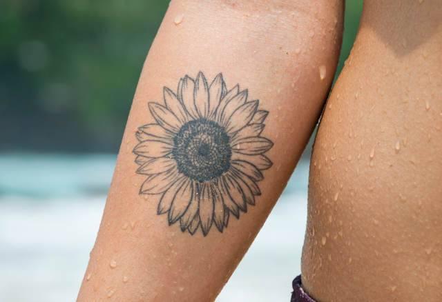 tattoo girasole