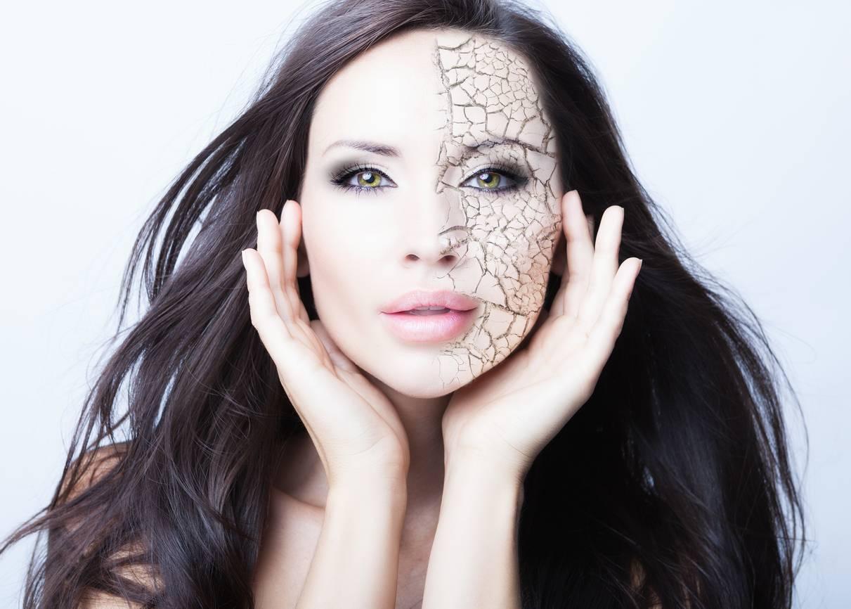 trucco pelle viso secca