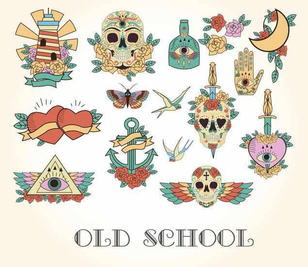 tatuaggi old school