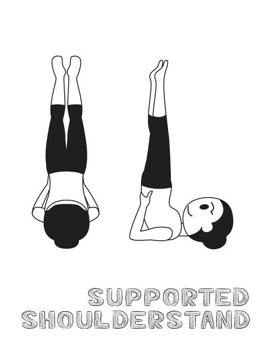 12 posizioni base yoga