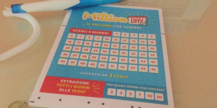 million day numeri vincenti 16 aprile