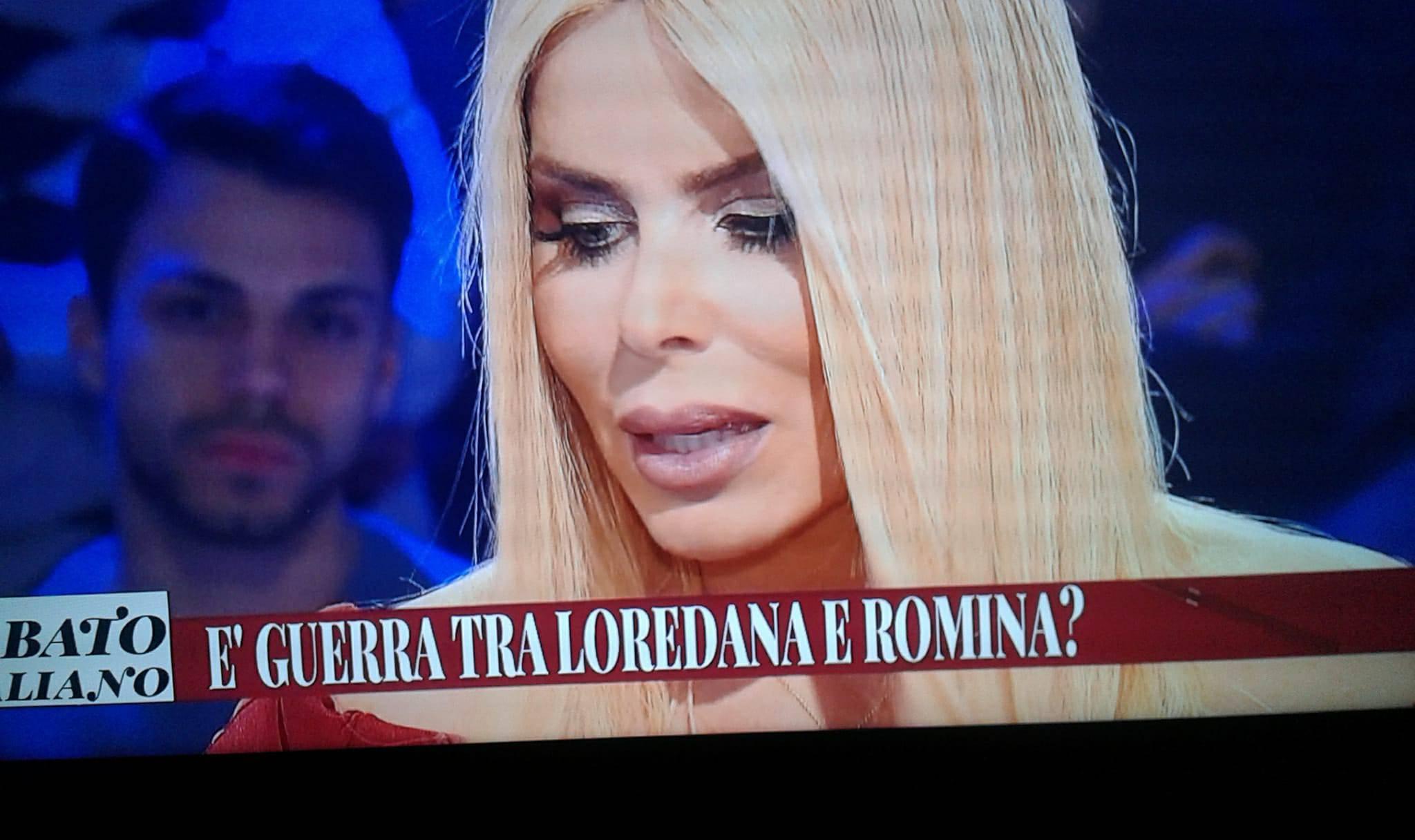 loredana lecciso a sabato italiano