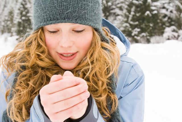mani fredde per poca massa muscolare