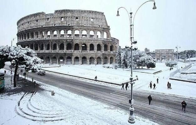 Meteo: tornano le correnti fredde dalla Russia, maltempo e nevicate a bassa quota