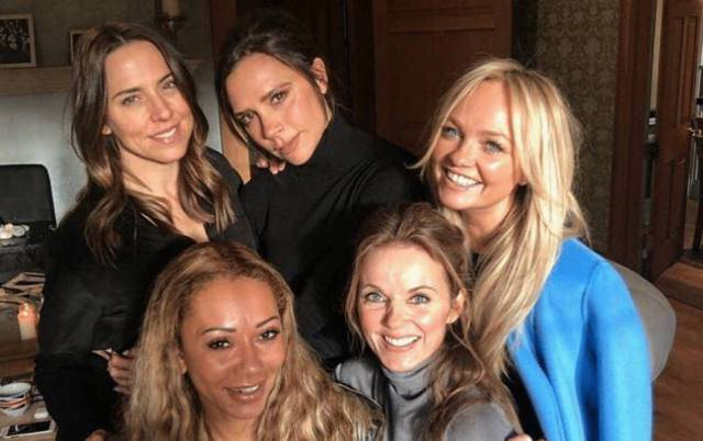 spice girl al matrimonio del principe Harry