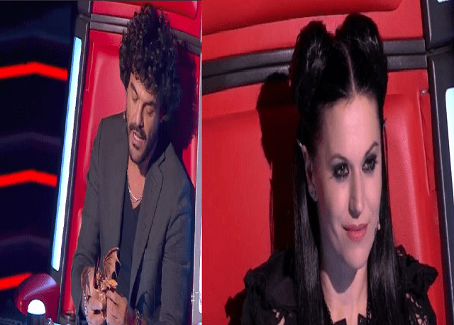 the voice 2018 cristina scabbia contro francesco renga