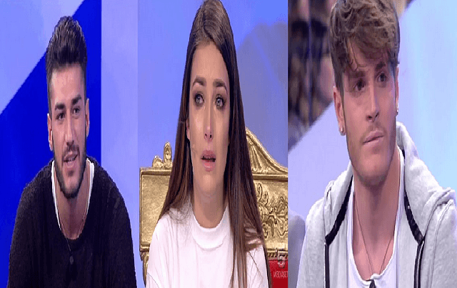 uomini e donne nilufar addati piange lorenzo riccardi e giordano mazzocchi