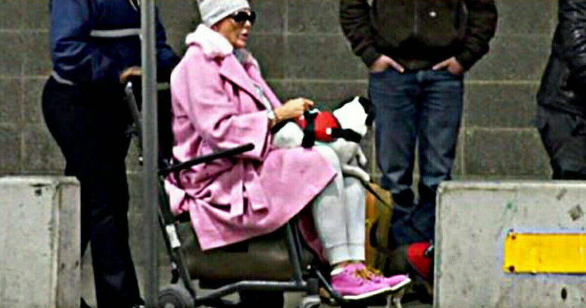 Brigitte Nielsen sulla sedia a rotelle: cosa è successo?