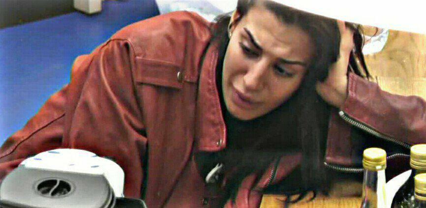 Patrizia Bonetti in lacrime per il padre