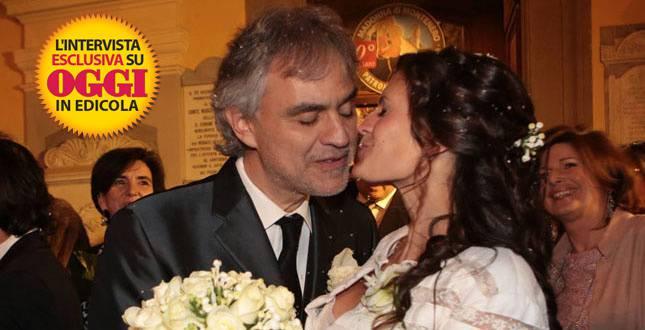 Andrea Bocelli e Veronica Berti