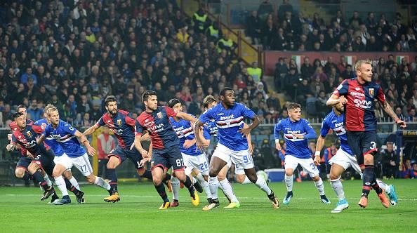 Serie A derby Genova