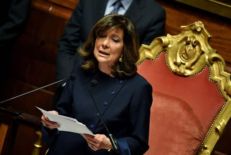 presidente del consiglio donna