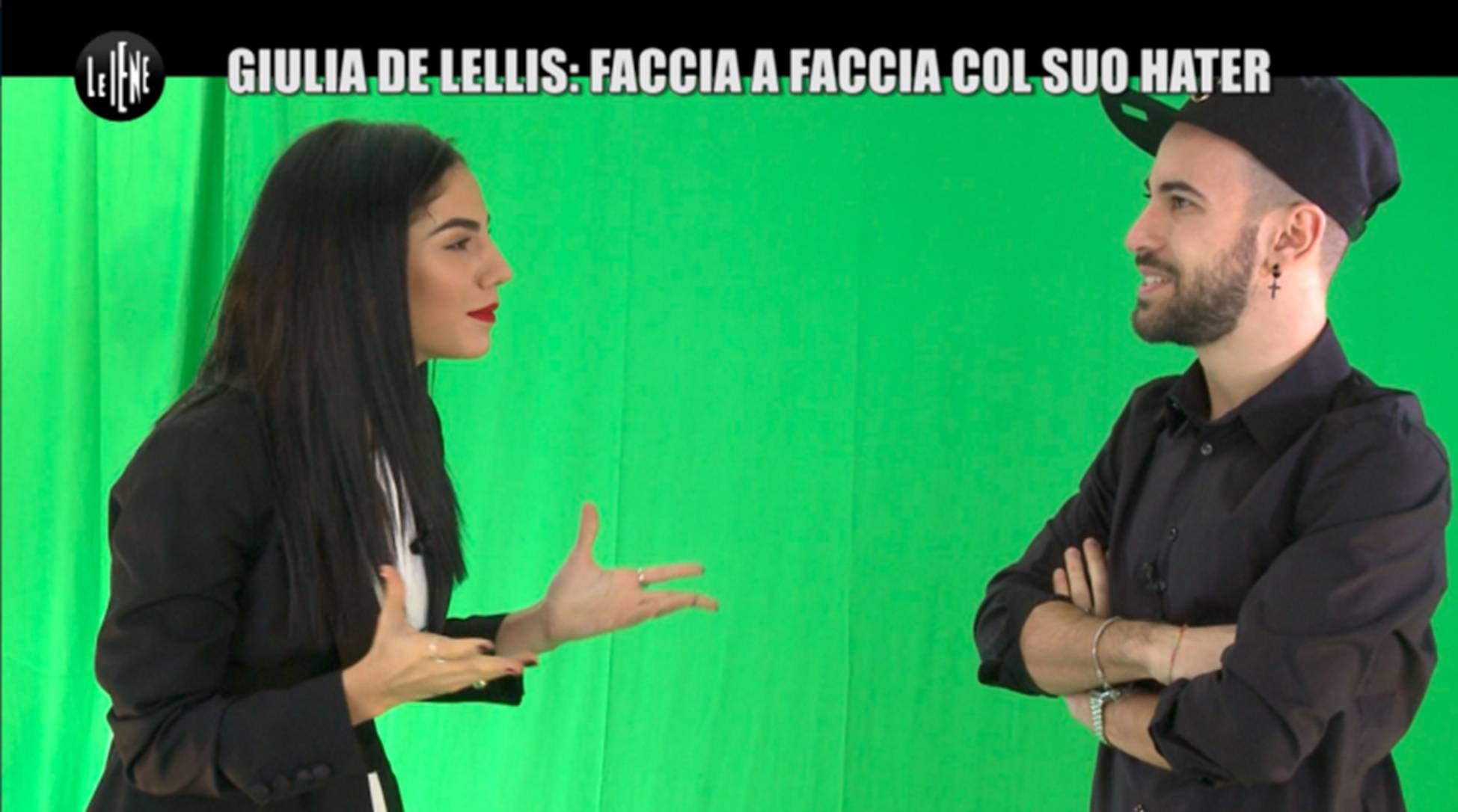Giulia De Lellis, hater
