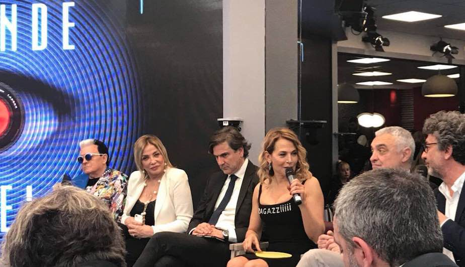 Grande Fratello 15, Barbara D'Urso in conferenza