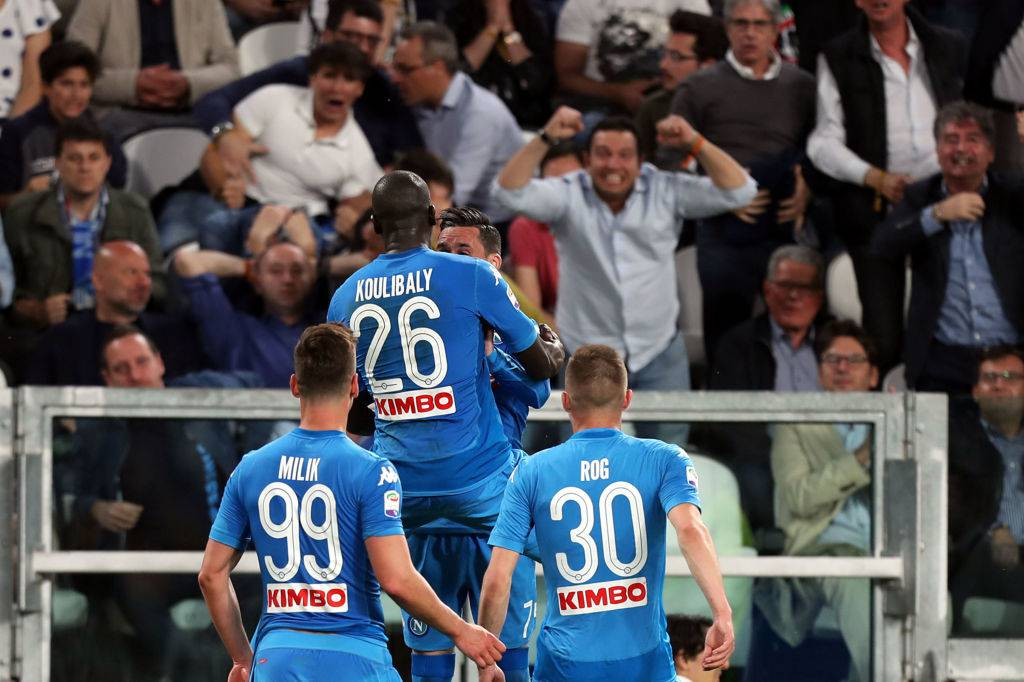 Juventus-Napoli, esultanza gol Koulibaly